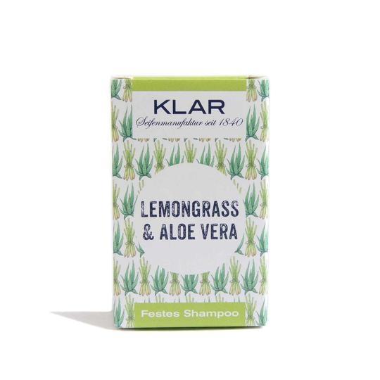 KLAR festes Shampoo Lemongrass & Aloe Vera